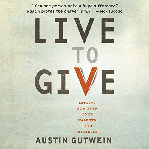 Live to Give audiobook cover art