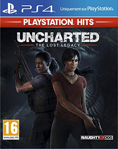 Uncharted : The Lost Legacy Hits pour PS4
