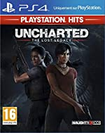 Uncharted - The Lost Legacy Hits pour PS4