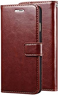 Nkarta Stylish Vintage Retro Leather Wallet Diary Stand Flip Cover Case for Samsung Galaxy Grand 2 G7102 7106 - Brown