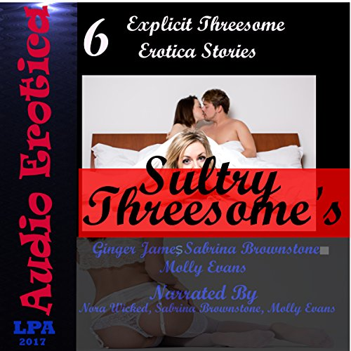 Sultry Threesome's audiobook cover art