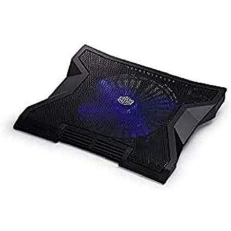 "Cooler Master NotePal XL Base di raffreddamento per PC portatili, Ventola blu silenziosa da 230mm, USB Hub, Supporta Computer Portatili fino a 17""' R9-NBC-NXLK-GP"