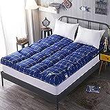 RTYUIO Tatami-Fußmatte schlafen, Dicke Faltbare Federsamt Matratzenauflage japanische Bettmatte,...