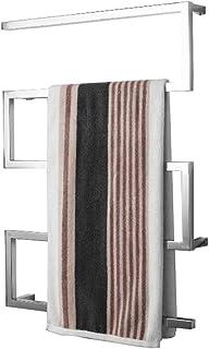 Toallero eléctrico con Tubo Cuadrado, Estilo Arco, 65w, Temperatura Constante Inteligente, Ahorro de energía, Pasillo del baño Radiador de Acero Inoxidable montado en la Pared