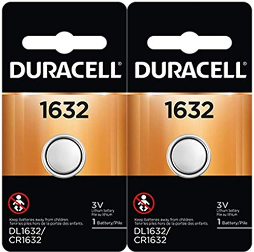2 x 2 Duracell CR1632 1632 car remote batteries