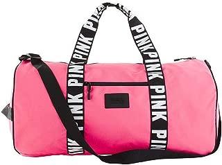 Victoria's Secret Pink Weekender Duffel Capri pink/Black/White