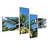 islandburner Bild Bilder auf Leinwand Ocean Drive Miami