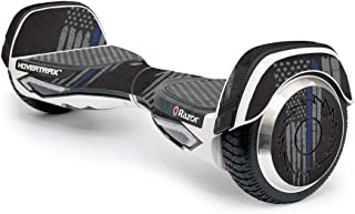 MightySkins Skin Compatible with Razor Hovertrax 2.0 Hover Board Self-Balancing Smart Scooter wrap Cover Sticker Skins Thin Blue Line