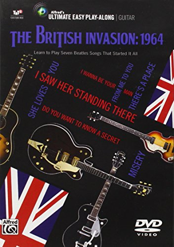 Ultimate Easy Guitar Play-Along -- The British Invasion 1964: Easy Guitar Tab DVD, DVD (Alfred's Ultimate Easy Play-Along Guitar)
