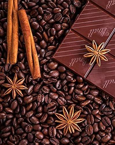 Yzqxiongtu Chocolade koffie puzzel 1000 stukjes, houten puzzelspeelgoed, puzzels voor volwassenen Educatieve spelletjes voor kinderen
