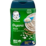 Gerber Baby Cereal, 1st Foods (Organic Rice)