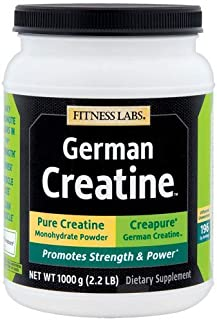 German Creatine   196 Servings (1000g) Creapure   Pure German Creatine Monhydrate from Germany   Purest Creatine Available