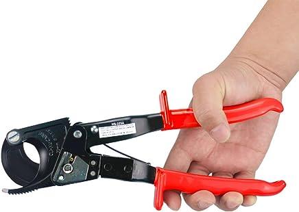 Alicates de corte de cable cortador de cable de trinquete Alicates de corte de alambre de cobre de aluminio Capacidad de corte 400 mm/² HS-520A