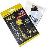 Nitecore TUBE UV 500mW USB rechargeable Ultraviolet blacklight LED keychain light and EdisonBright brand USB charging cable bundle