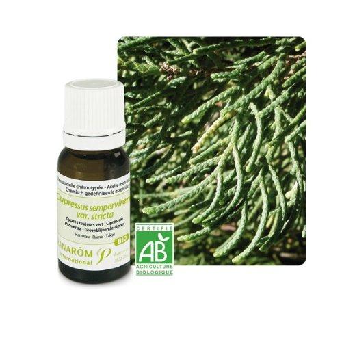 Pranarôm - Cyprès toujours vert Bio (Cupressus sempervirens) - Huile essentielle
