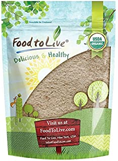 Organic Spelt Flour by Food to Live (Whole Grain, Non-GMO, Stone Ground, Raw, Vegan, Bulk, Great for Baking Bread, Product of the USA) — 1 Pound