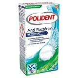 detergente antibatterico per protesi parziali o complete.