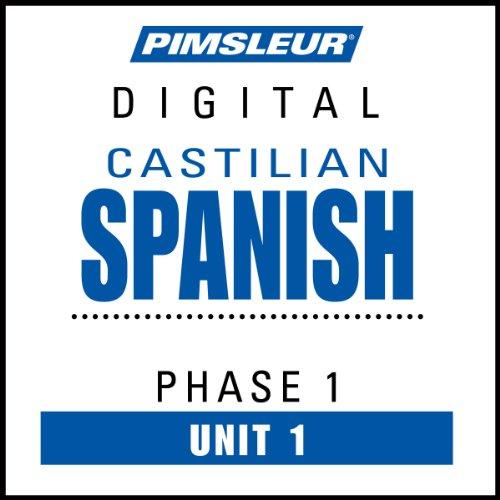 『Pimsleur Spanish (Spain-Castilian) Level 1 Lesson 1』のカバーアート