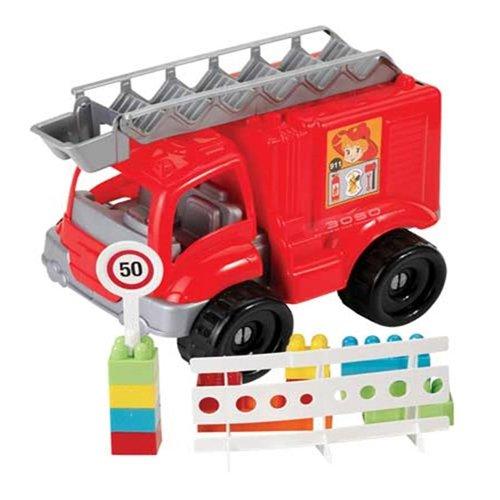 Dede Grand Fire Engine avec Les Blocs de Construction (30 pièces)