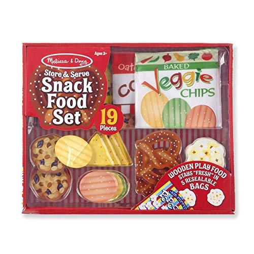 Melissa & Doug Snack Food Set