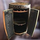 Whisky-Fass'Alexander', rustikaler massiver Eichenholz | Bartisch