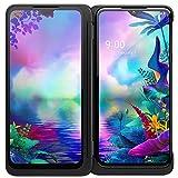 LG G8X ThinQ Dual Screen Unlocked CDMA GSM Cell Phone - 6.4' FHD+ OLED Display 2340 x 1080, Snapdragon 855 Octa-core, 6GB RAM 128GB US Warranty (Universal Compatible)