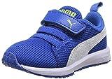 PUMA Carson Runner, Jungen Babyschuhe - Lauflernschuhe Blau Bleu (Strong Blue/White) 21