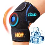 Knee Ice Pack Wrap, Hot & Cold Therapies, Knee Support Brace with Gel Cold Ice Pack Reusab...
