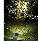 Coloridos Proyectores De Césped Solar Led, Luces De Jardín Jardín Jardín Al Aire Libre, Luces De Paisaje De Geo-iluminación Luz cálida monocroma
