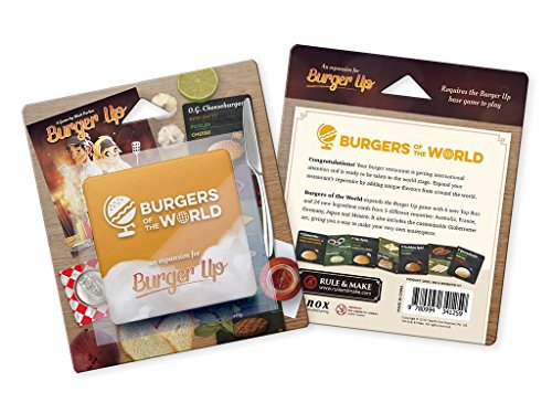 Green Brier Games grb0bup2 – Burger Up: Burgers of The World Expansion, Familias estándar Juegos