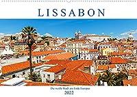 Lissabon - Die weisse Stadt am Ende Europas (Wandkalender 2022 DIN A2 quer): Fotografische Impressionen aus Portugals Hauptstadt (Monatskalender, 14 Seiten )