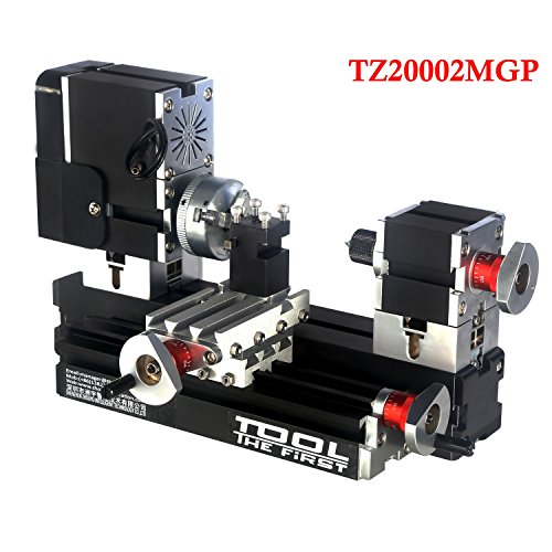 For Sale! Multi-functional Powerful 60w Motor Electroplated Mini Metal Lathe B For DIY Model Making,...