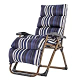 Tiao ZHAN Loungers Folding Chairs Office Chairs Loungers Chairs Beach Chairs(154 80 74cm) AA (Color : P)