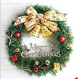 Christmas Party Snowman Pattern Christmas Garland Door Hanging Ornaments Room Christmas Tree Pendants for Decoration