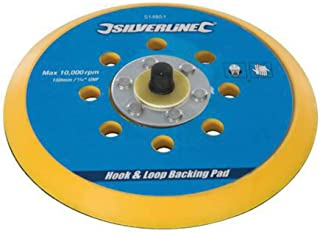 comprar comparacion Silverline 108628 - Plato de soporte autoadherente (125 x 2 mm)