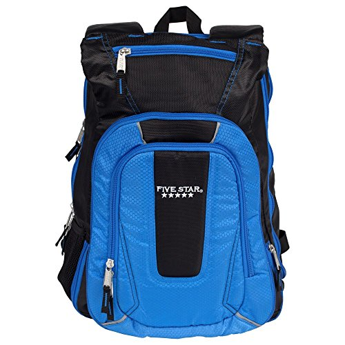 Five Star Expandable Backpack, School Backpack, Blue (73417)