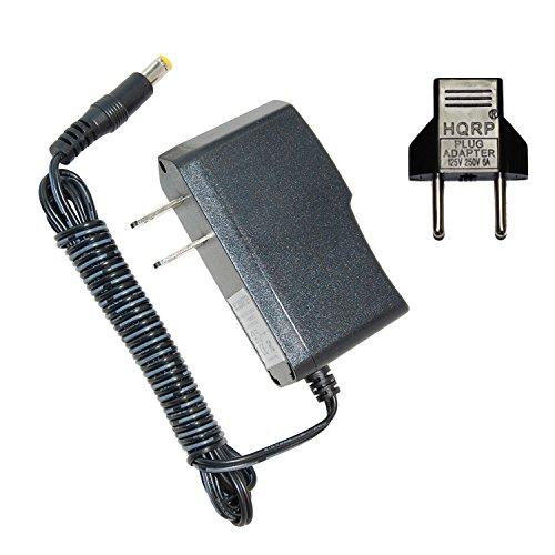 HQRP Adaptador de CA para NordicTrack E7 SV FRONT DRIVE Elliptical NTEL078080 / NTEL078081 / NTEL078082 / NTEL078083 / NTEL078084 / NTEL078085 Entrenador / Ejercitador
