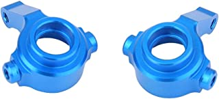 RC Car Steering Hub, 2PCS/Set RC Steering Hub, Blue Lightweight Durable for RC Car Replacement Parts RC Accessory WL-toys ...
