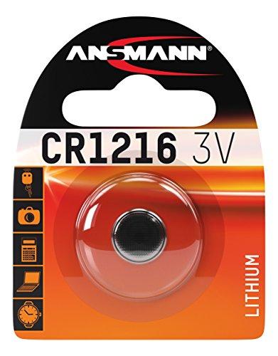 ANSMANN 1516-0007 Knofpzelle Batterie Lithium CR 1216 - 3V