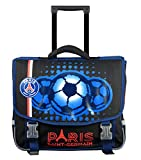 Cartable à roulettes PSG - Rentrée scolaire - Collection officielle PARIS SAINT GERMAIN