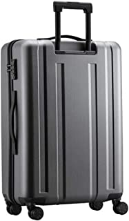 HPXCAZ Travel Suitcase Low Profile Luxury Travel Suitcase for Travel Durable Light Hard Shell Suitcase Color Black Size (47 * 23 * 68) cm (Color : Silver, Size : 19 * 10 * 28 inch)