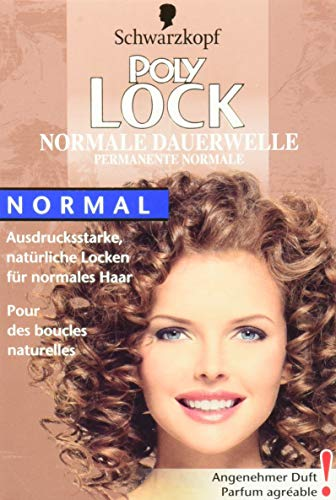 Schwarzkopf Poly Lock Normale Dauerwelle, 5er Pack (5 x 160 ml)