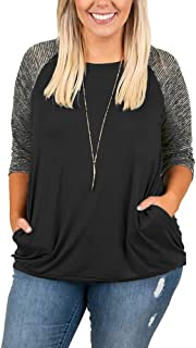 Best 3 4 sleeve shirts plus size Reviews