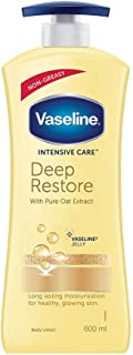 Vaseline Intensive Care Deep Restore Body Lotion 600 ml
