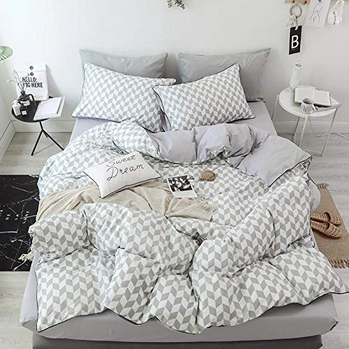 LMTQWC Bed linen sheets four-piece quilt cover pillowcase-Ling Su_(1.8-2.0) rice bed