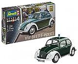 Revell Maqueta VW Conocido Policía, Kit Modelo, Escala 1:24 (07035), Color grün/weiß (Polizei), 17,1...