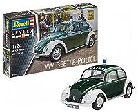 ドイツレベル 1/24 フォルクスワーゲン ビートル ポリスカー プラモデル 07035