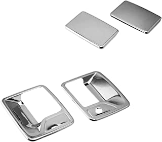 SEGADEN Chrome Plated Door Handle Cover fit for FORD F-250 F-350 F-450 Super Duty (2 Doors Right Hand Drive No Passenger Keyhole) XG7720