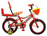 Outdoor Kids Double Seat Bicycle 14 Inch (Red)