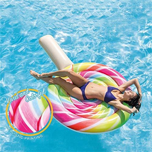 Lecca-Lecca Gonfiabile Float Leisure Scattare Una Foto Vacanza  Giocattolo Divertimento Rilassamento Acqua Giocattolo (208 * 135CM ) (Size : Without Air Pump)